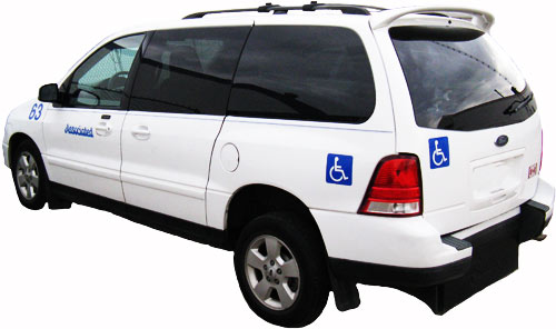 WHEELCHAIR ACCESSIBLE TAXI CABS